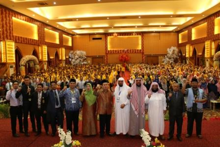 Dekan Fakultas Syariah Umm al-Qura University, Makkah Berikan Kuliah Umum Pada 1.500 Mahasiswa